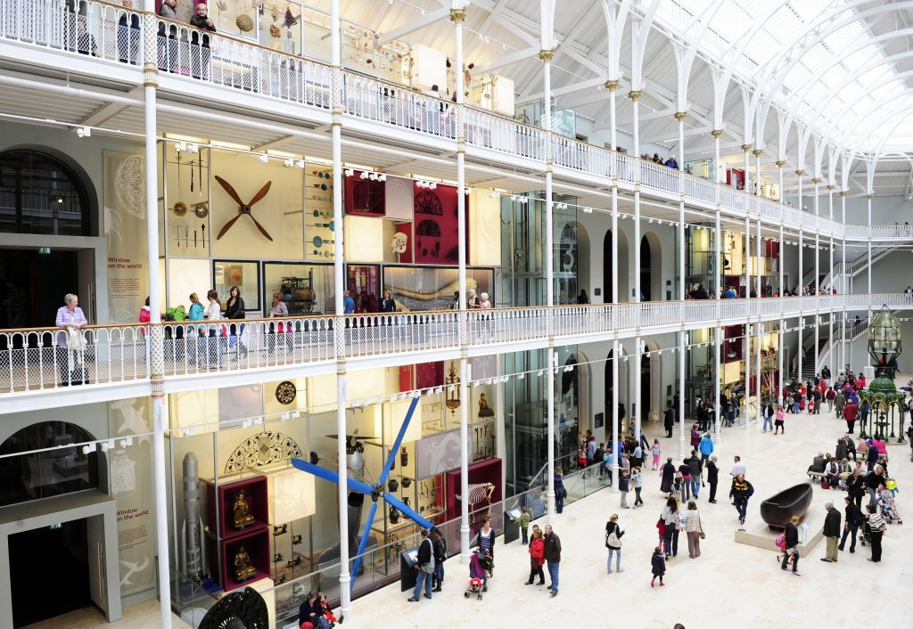 Grand Gallery at the National Museum of Scotland (National Museums Scotland)