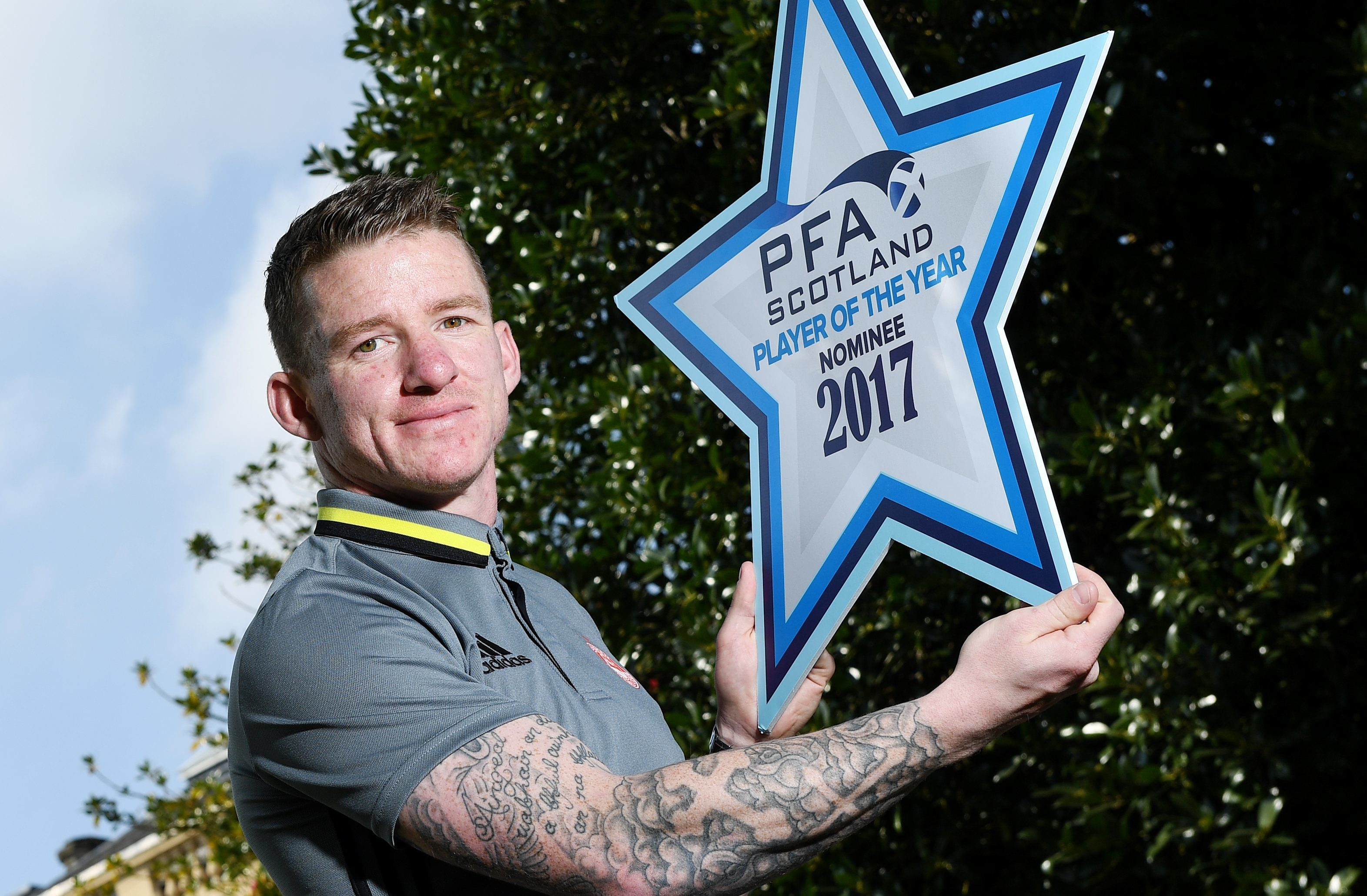 PFA Scotland Premiership Player of the Year Nominee Jonny Hayes (SNS Group)
