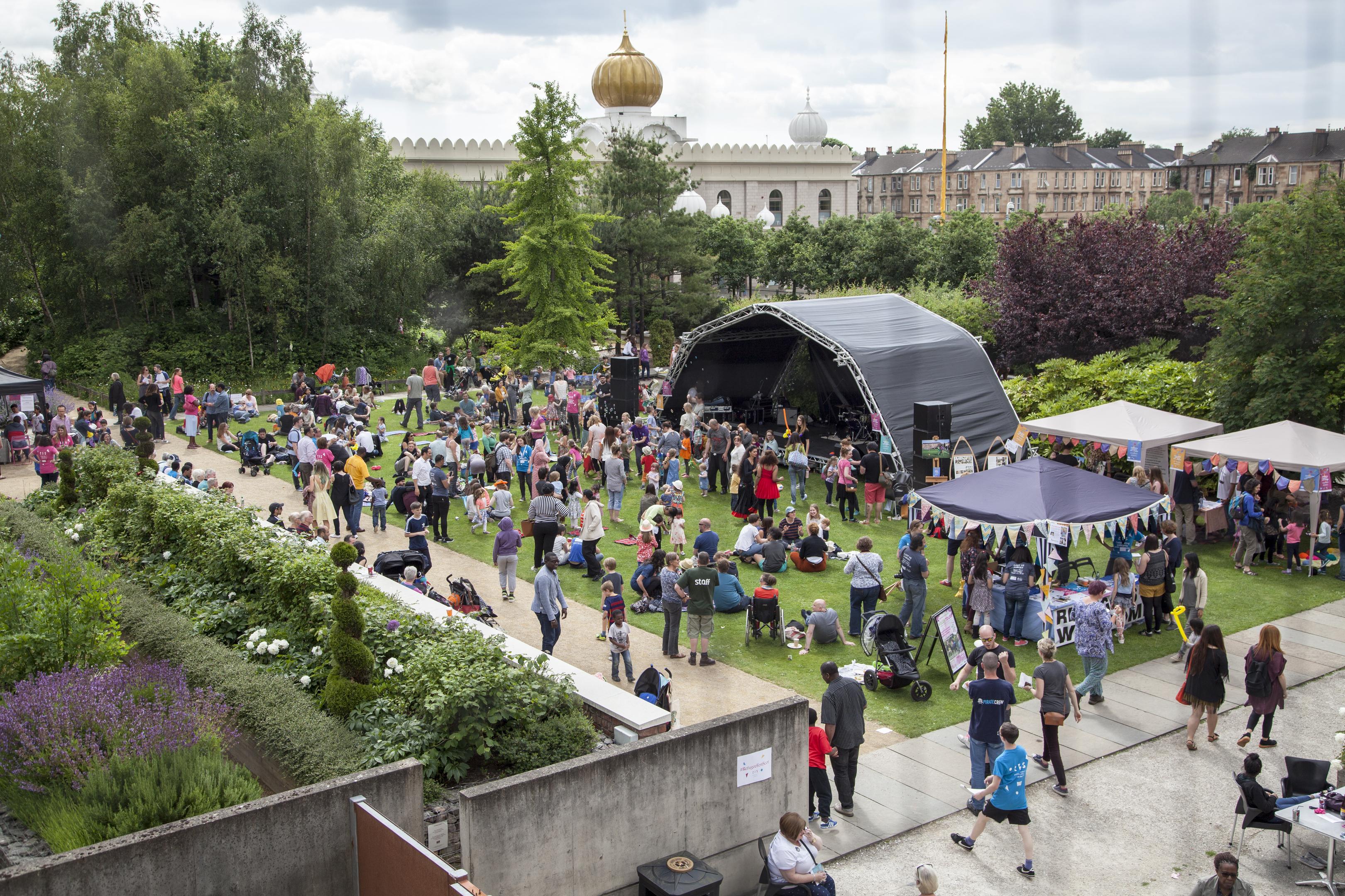 Refugee Festival Scotland (Iman Tajik)