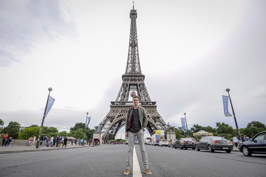Adam hits Paris (Red Bull TV)