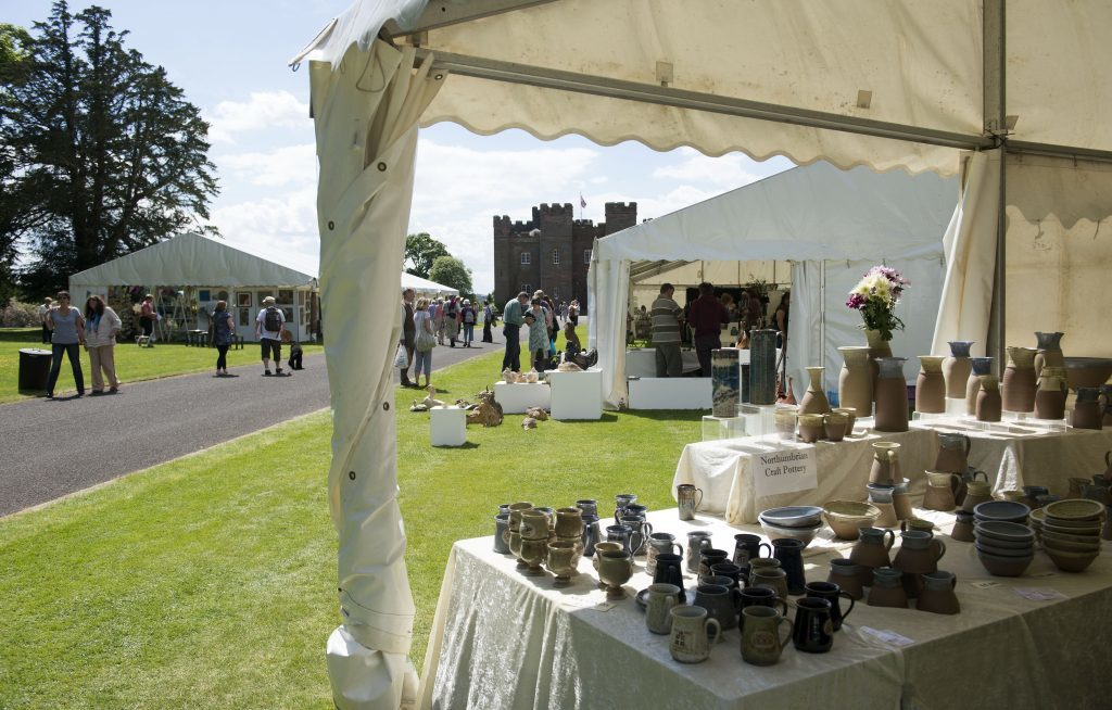 Potfest, Scone Palace. (Graeme Hart, Perthshire Picture Agency)