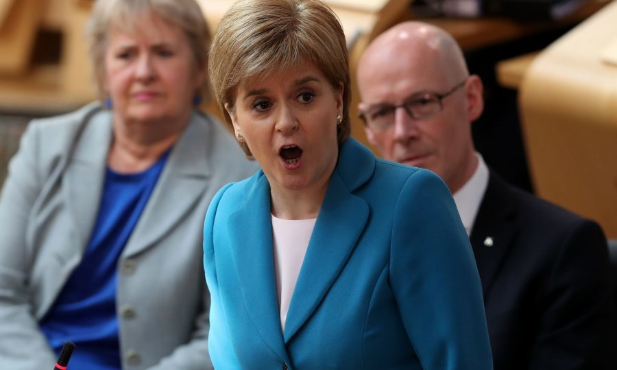Sturgeon: Independent Scotland may start out the EU