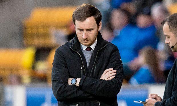 Hearts' head coach Ian Cathro (SNS Group / Ross Parker)