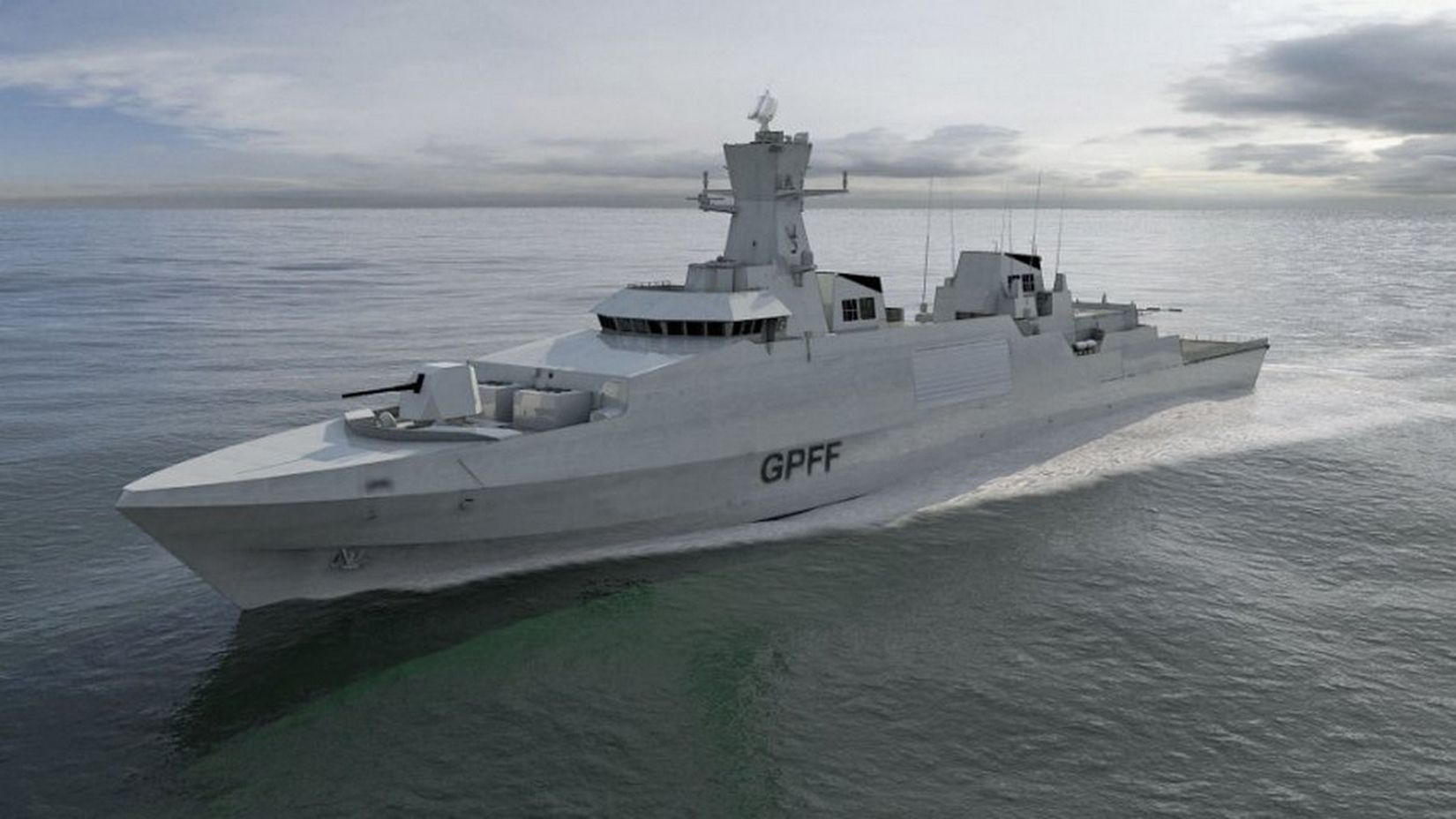 One of the Type 31 frigate designs.