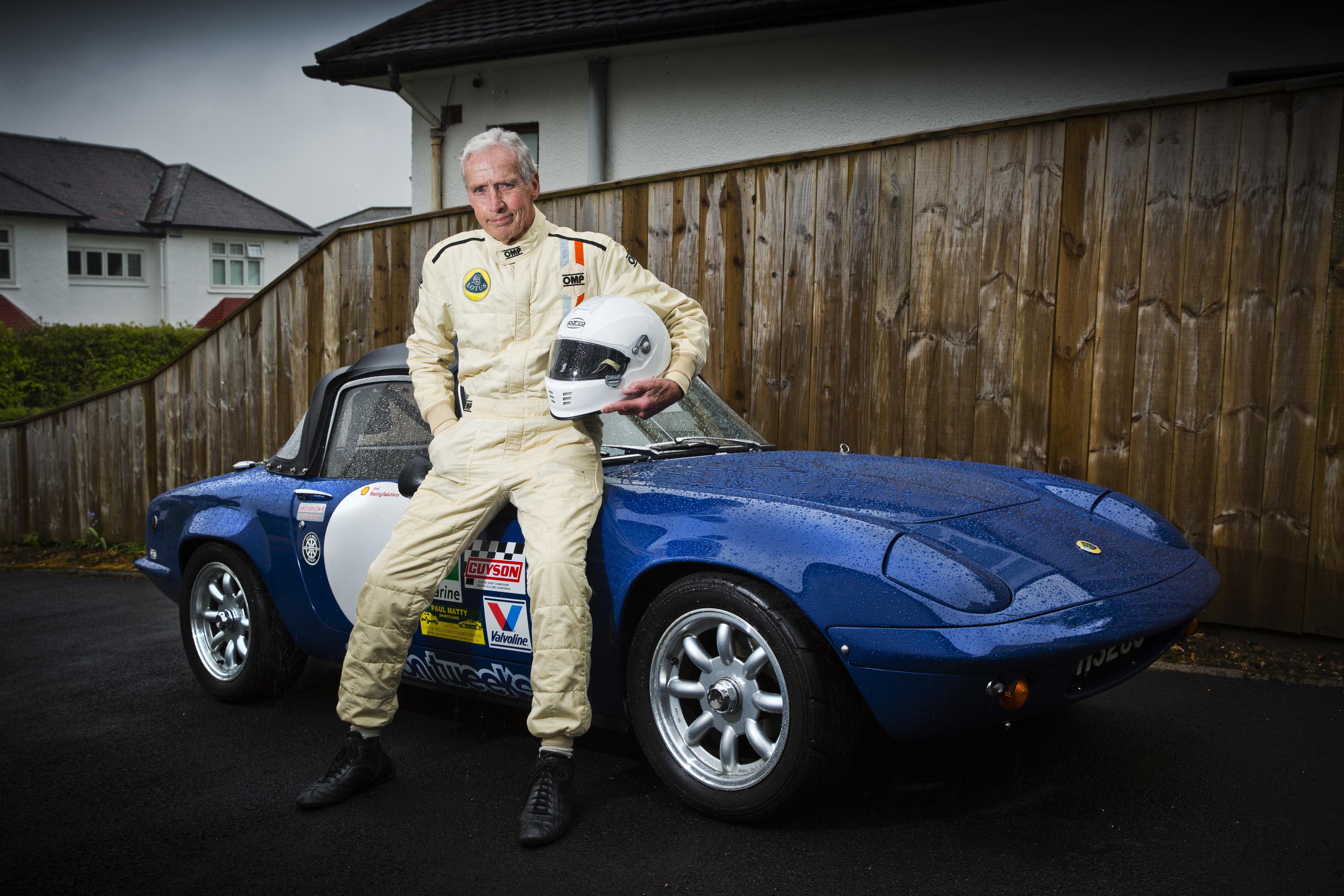 Richard Swindall at 82 still races his 1970 Lotus Elan S4 (Jamie Williamson)