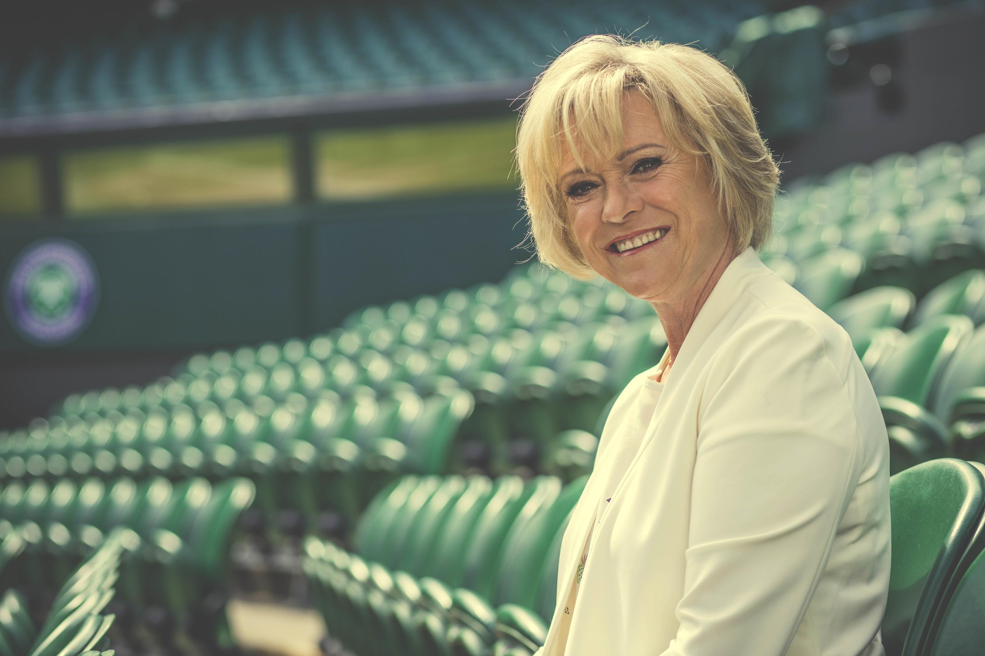 Sue Barker (BBC / Jonathan Ford)