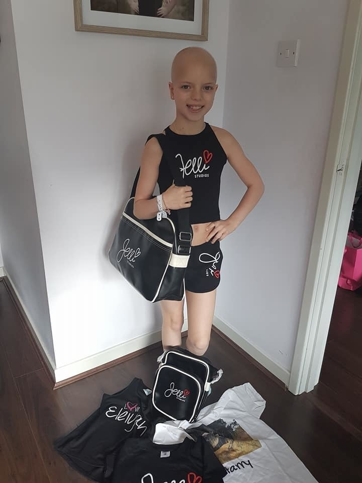 The brave youngster is still dancing despite going through gruelling chemotherapy treatment.