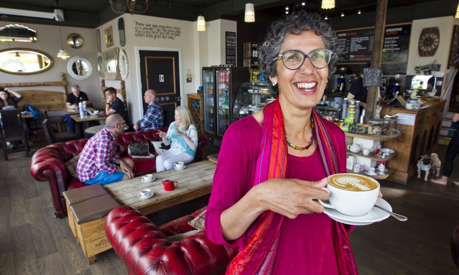 Rachel Weiss set up the 'menopause cafe' (Andrew Cawley / DC Thomson)