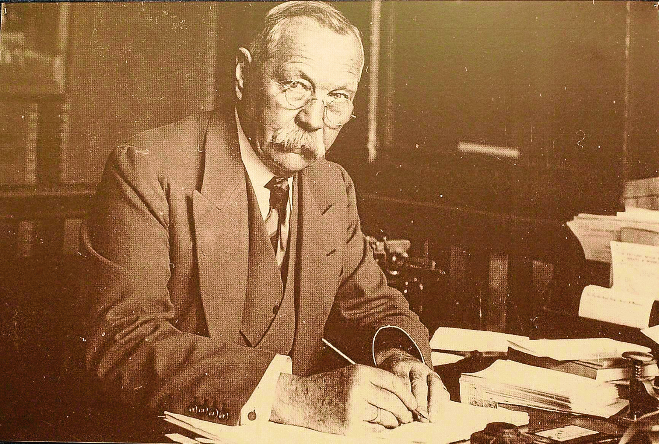 Sir Arthur Conan Doyle taken a few years before his death in 1930 (PA Photo / Kirsty Wigglesworth)