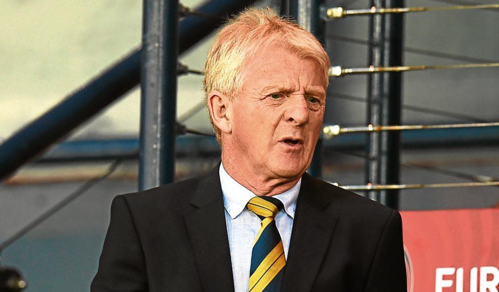 Scotland manager Gordon Strachan (SNS Group)
