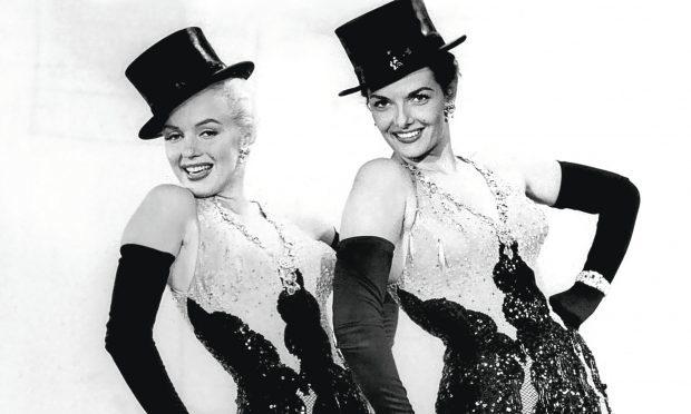 Marilyn Monroe and Jane Russell in 1953 film Gentlemen Prefer Blondes (Allstar/20TH CENTURY)