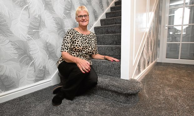 Margaret Purves had problems with her carpet but, thanks to Raw Deal, she got it replaced (SNS Group)