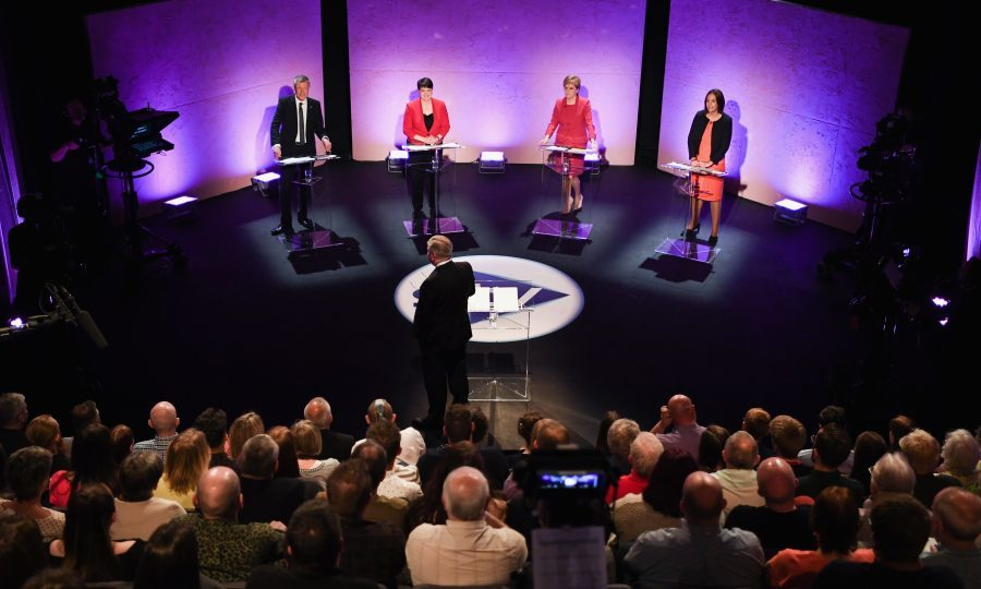 Exit poll predicts SNP will lose about 20 seats in Scotland