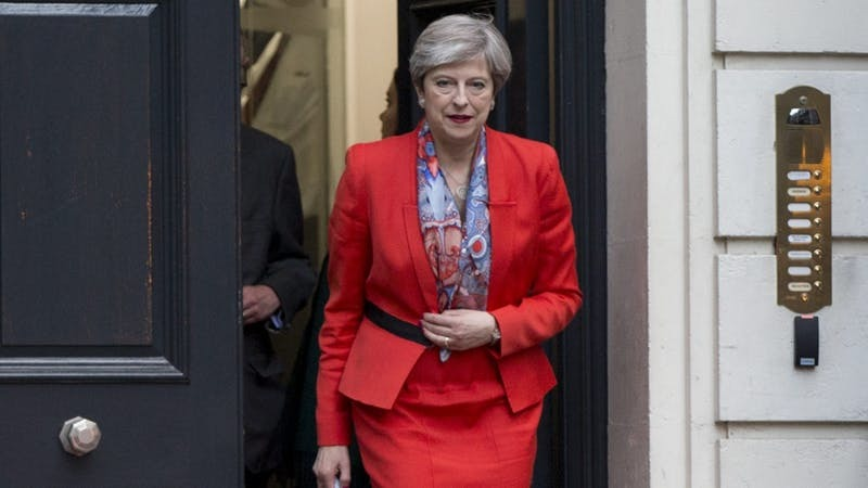 UK leader May strikes tentative deal with N Ireland party