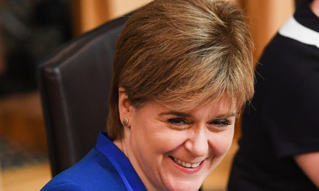 First Minister and SNP leader Nicola Sturgeon, Scottish Conservative leader Ruth Davidson, Labour's Kezia Dugdale, Patrick Harvie from the Green Party and Liberal Democrat Willie Rennie all voiced support for a law change (Jeff J Mitchell/Getty Images)