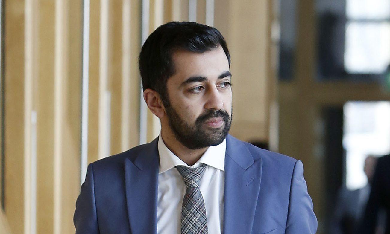 Humza Yousaf (Pic: Fraser Bremner)