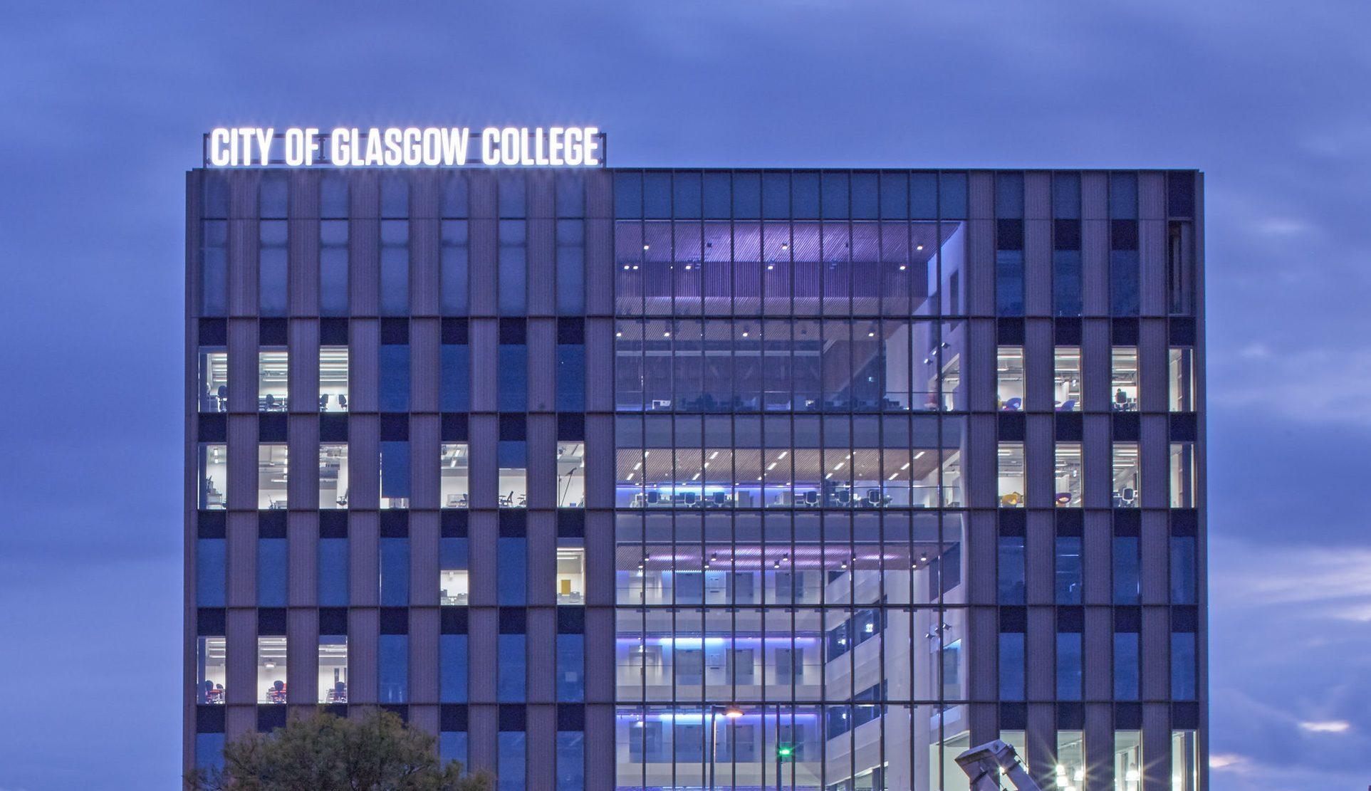 City of Glasgow College (Edmund Sumner/Riiba/PA Wire)