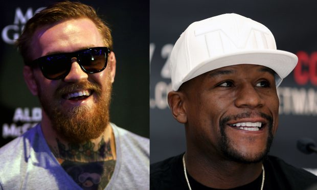 Conor McGregor (left) and Boxer Floyd Mayweather Jnr. (PA Wire)