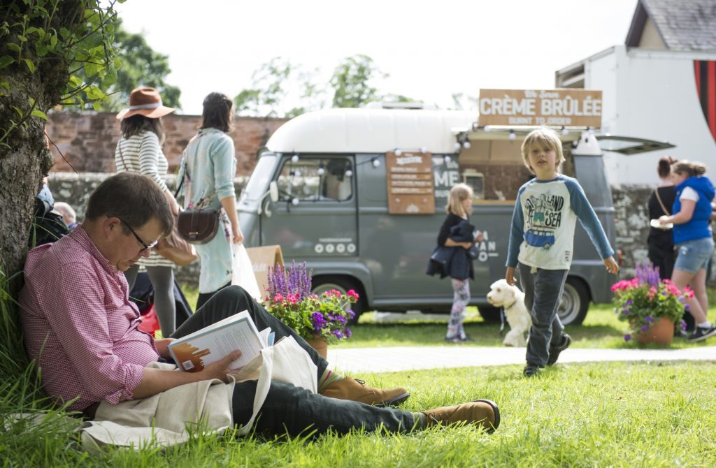 Borders Book Festival (Alex Hewitt/Writer Pictures)
