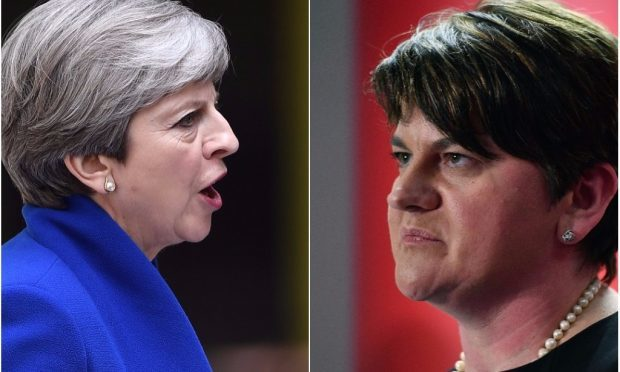 Theresa May and Arlene Foster (Getty Images)