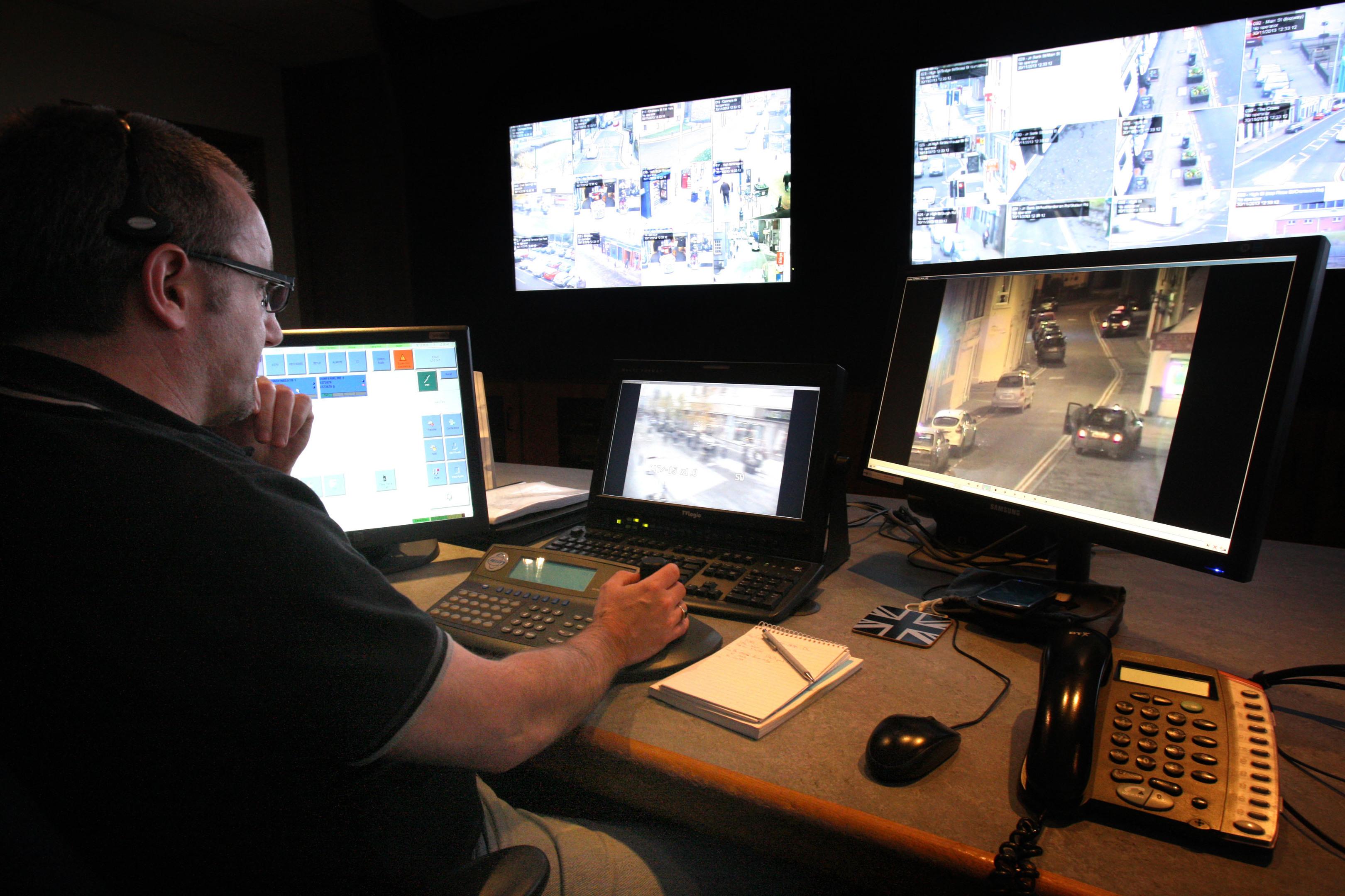 CCTV cameras similar to those planned (Kris Miller / DC Thomson)