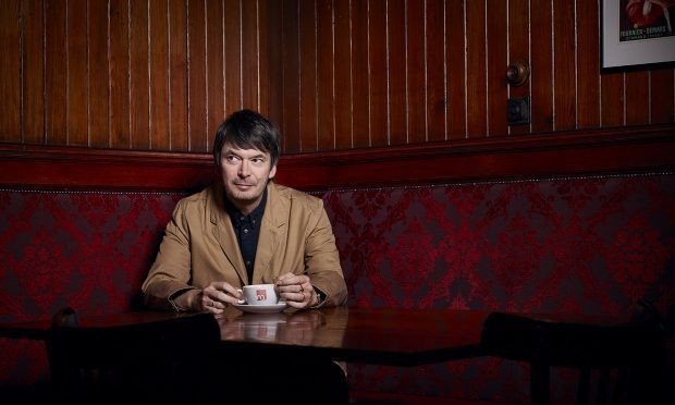 Ian Rankin is holding a festival in honour of his famous character Inspector Rebus (Pic: Hamish Brown)