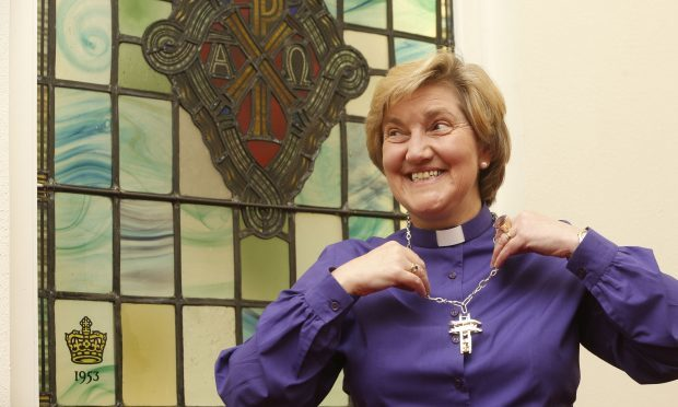 The Right Reverend Lorna Hood, former Moderator of the General Assembly of the Church of Scotland (Danny Lawson/PA Wire)