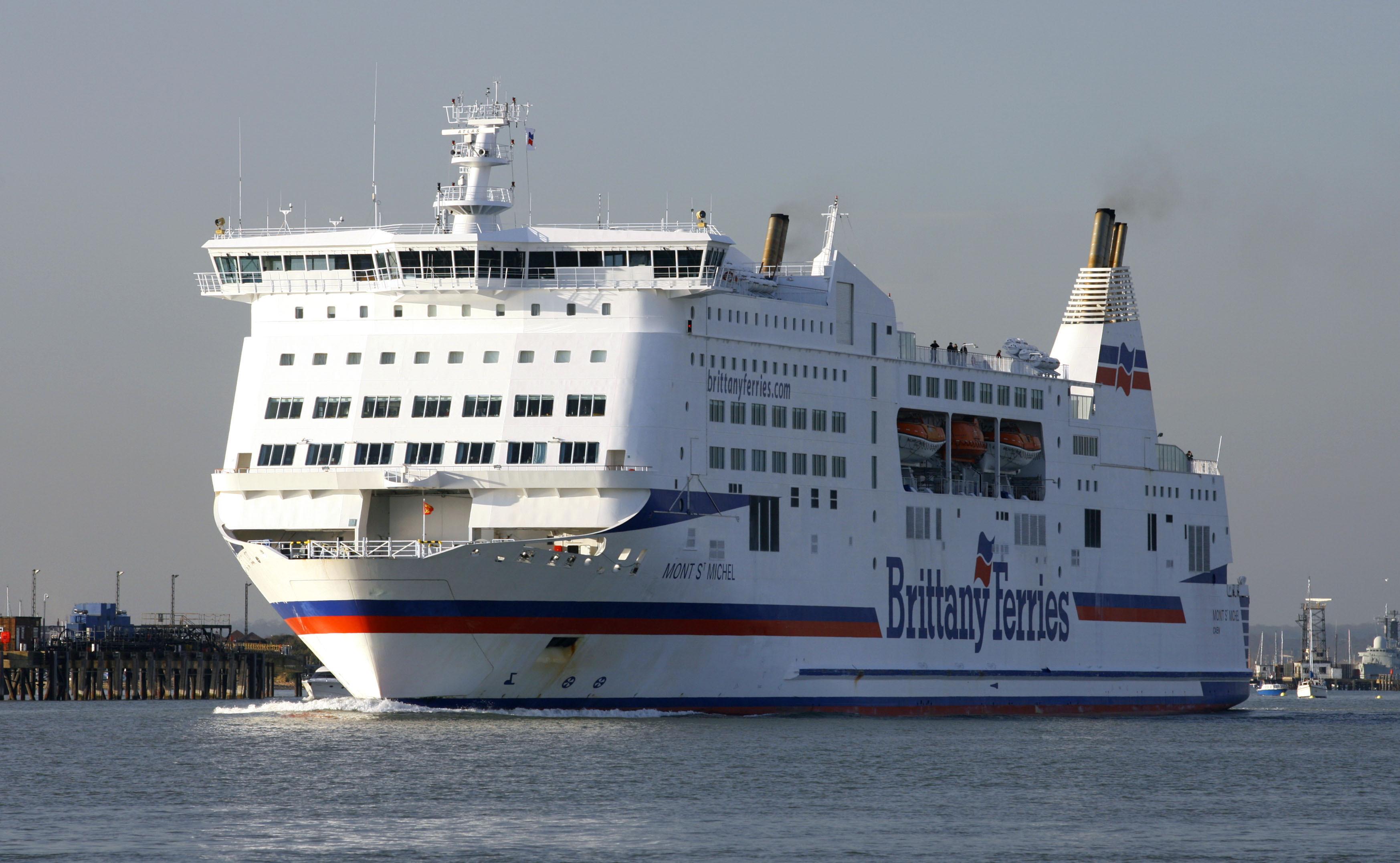 A cross channel ferry (PA)