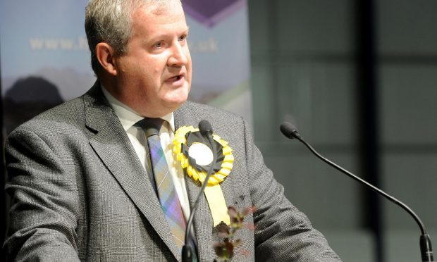 Ian Blackford, the new SNP Westminster leader (Press and Journal)