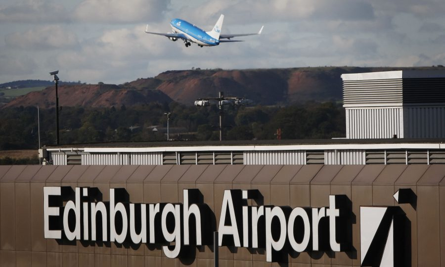 Power cut at Edinburgh airport causes major delays