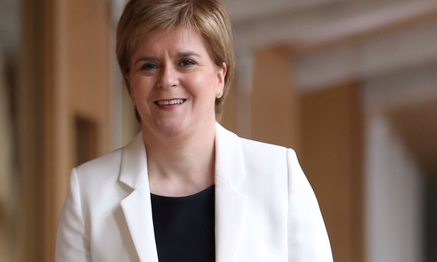 Nicola Sturgeon rules out coalition but backs progressive alliance