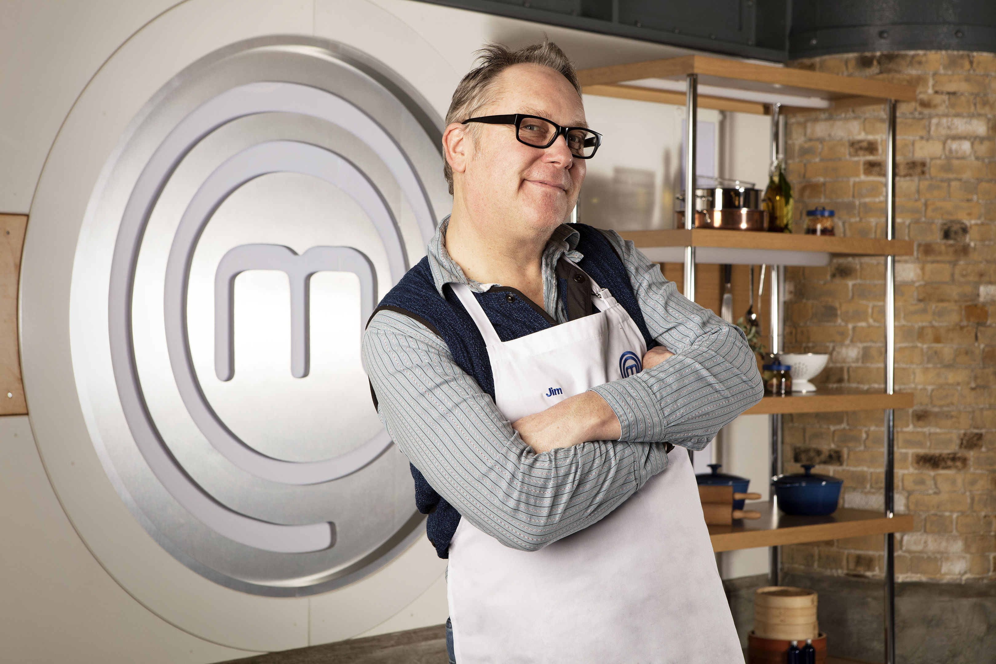Jim Moir, one of the contestants in this year's BBC1 cookery show, Celebrity MasterChef (BBC/PA Wire)