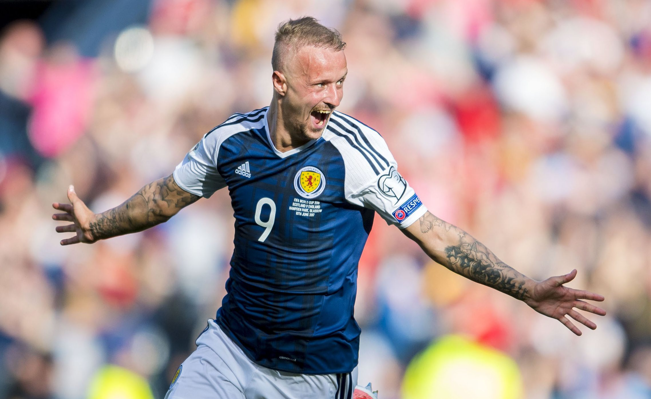 Scotland and Celtic striker Leigh Griffiths (SNS Group)