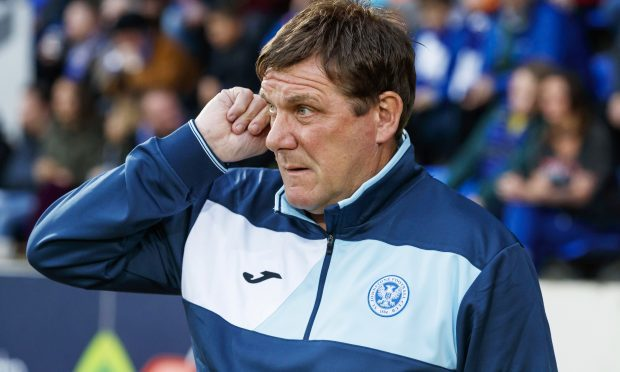 St Johnstone manager Tommy Wright (SNS Group / Roddy Scott)