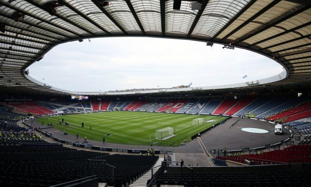 Security will be ramped up for the Scotland v England World Cup qualifier match at Hampden (Jane Barlow/PA Wire)