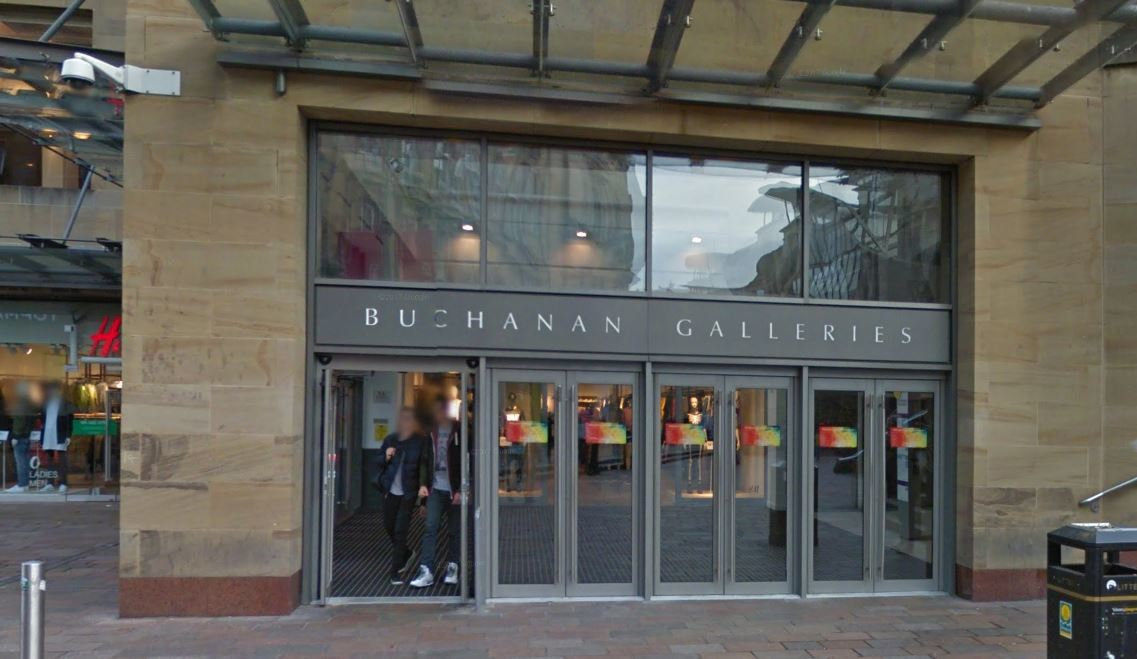 Buchanan Galleries (Google Streetview)