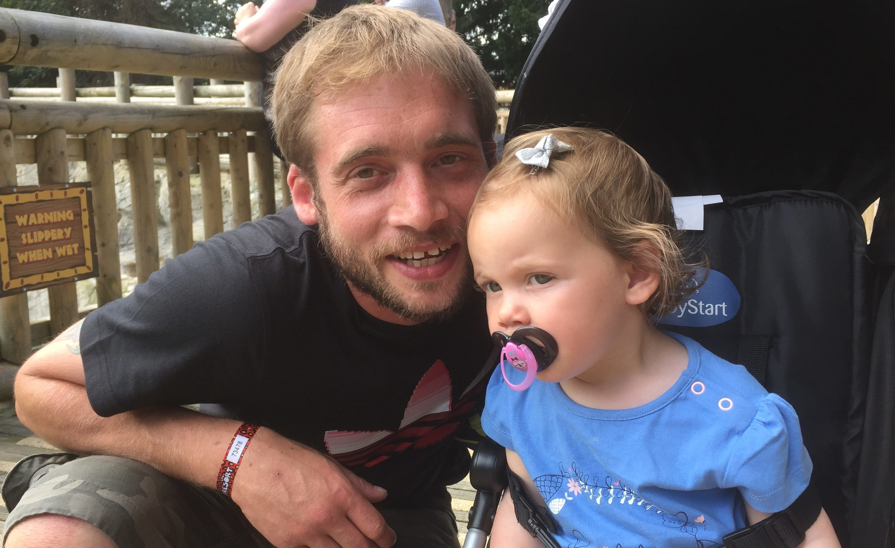 Lyall Gray lost his daughter Abbie
