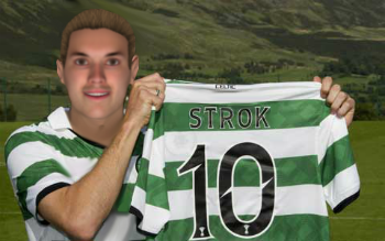 Celtic legend Ivica Strok (Jonny Sharples)