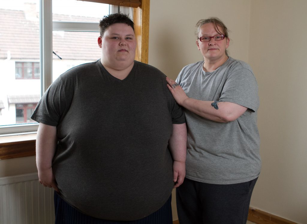Amy Johnston with mum Sharon (Sunday Post)
