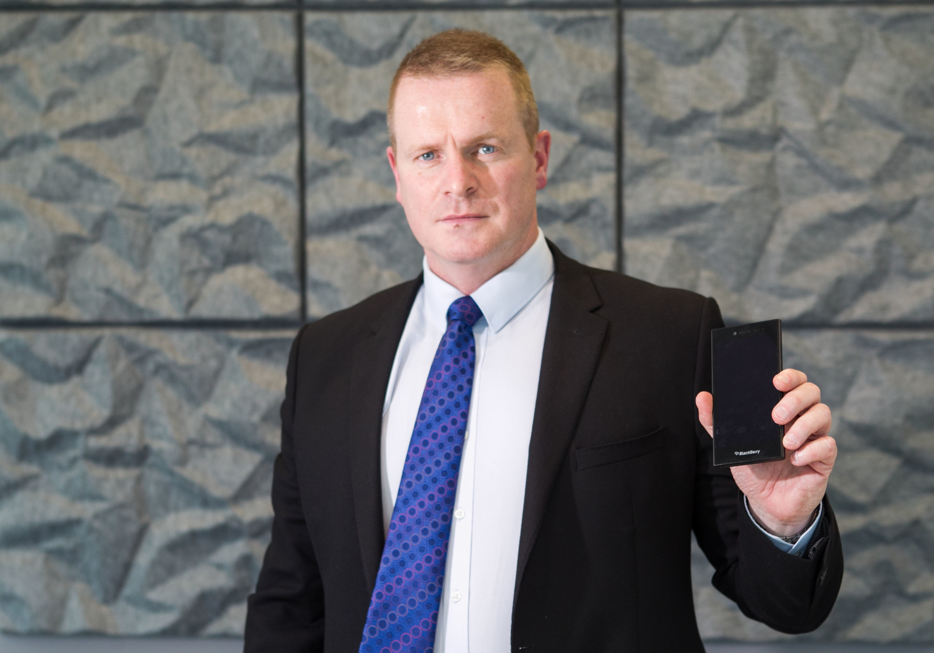 Chief Inspector Scott Tees of Police Scotland talks about mobile phone security