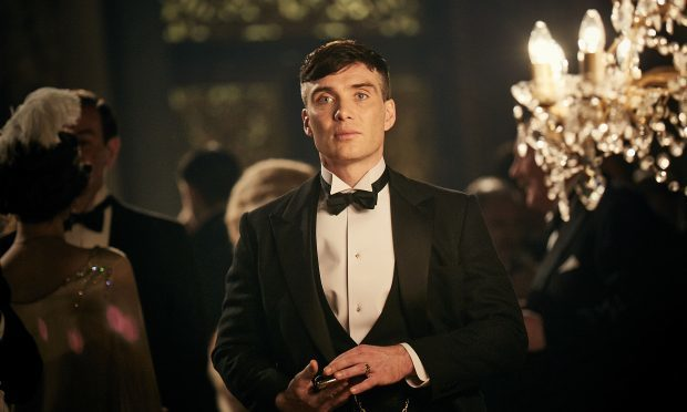 Cillian Murphy as Thomas Shelby in Peaky Blinders (Robert Viglasky / Tiger Aspect Productions)
