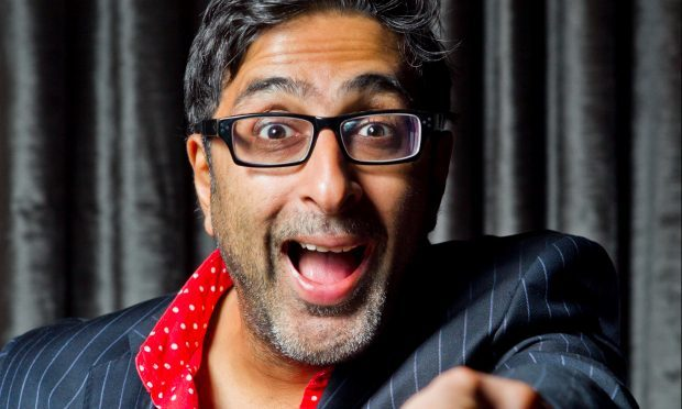 Still Game and River City actor, Sanjeev Kohli (Andrew Cawley)