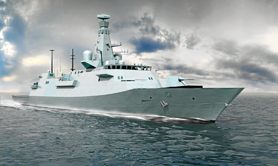 Type 26 frigates contract boosts firepower of BAE Systems