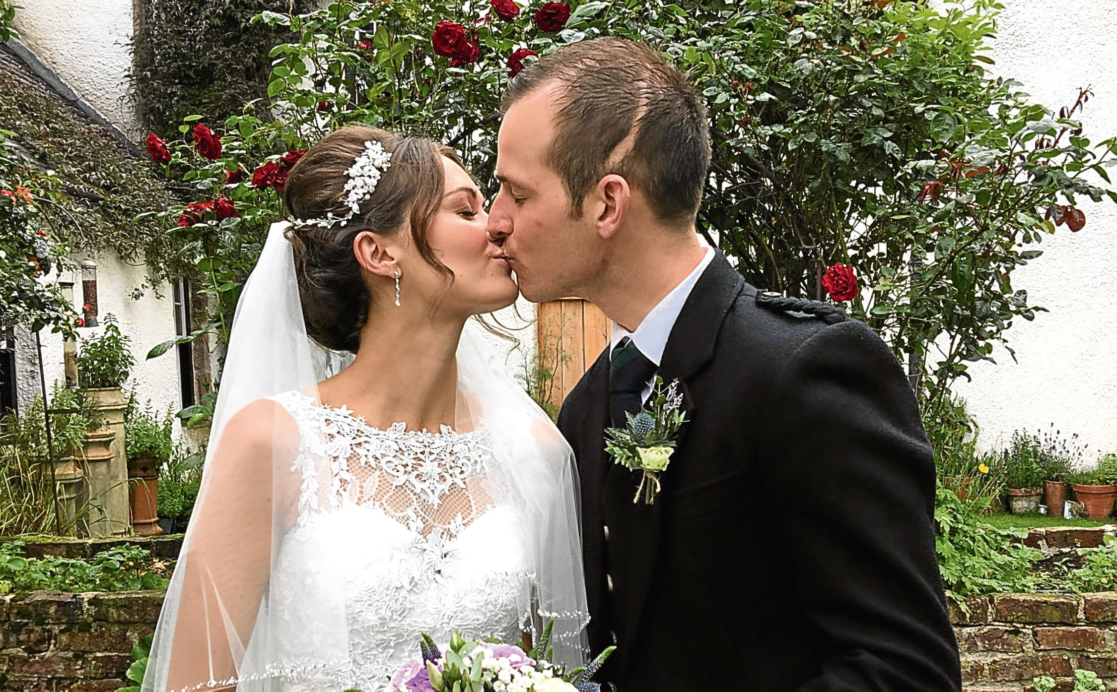 Craig Paterson marries Louise Dalgarno (Janie Barclay Photography)