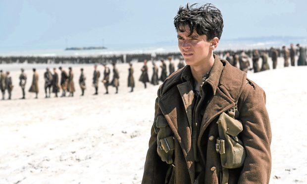 Fionn Whitehead in Dunkirk (Allstar/WARNER BROS. )