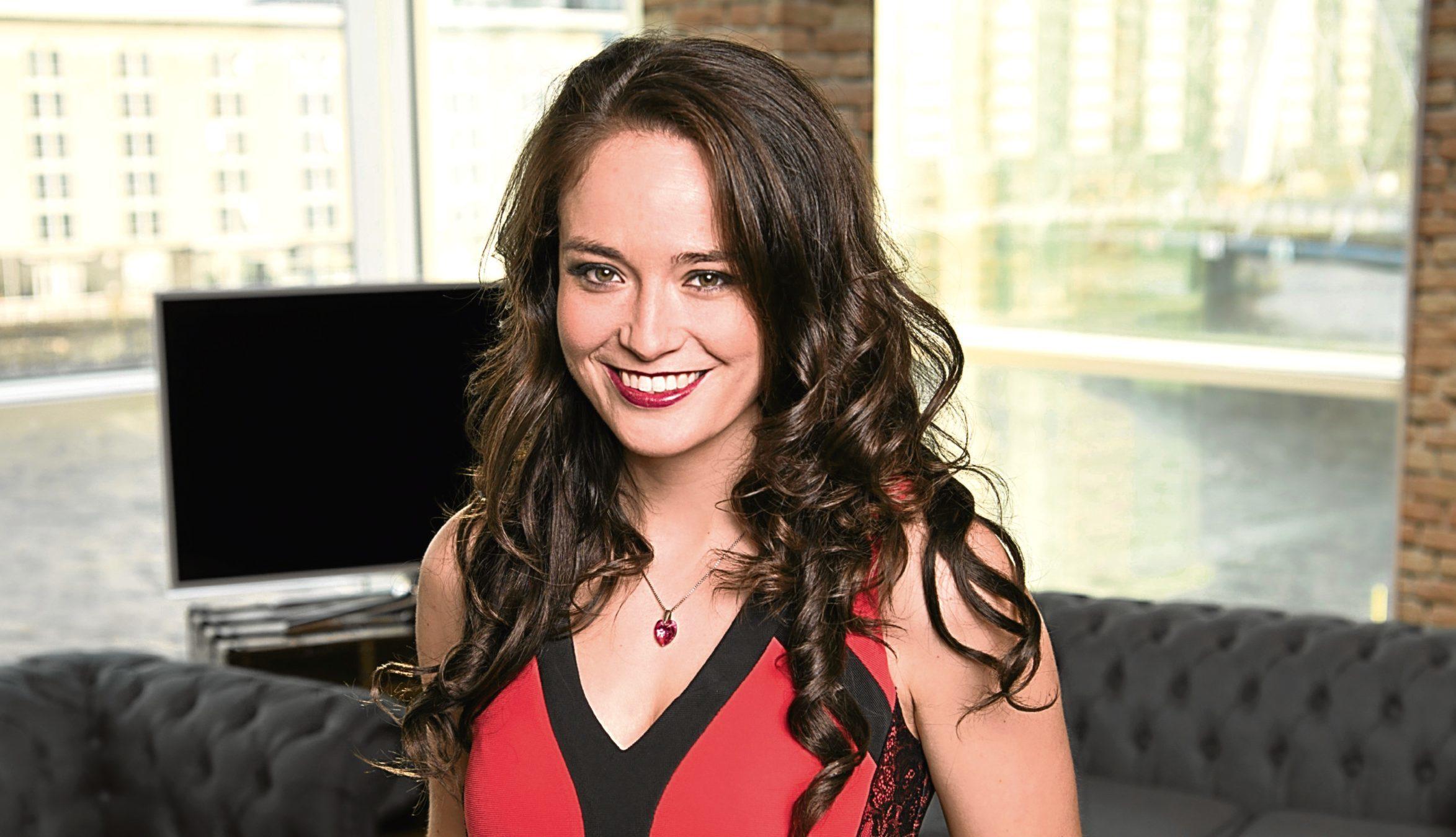 STV presenter Jennifer Reoch (Graeme Hunter/ STV)