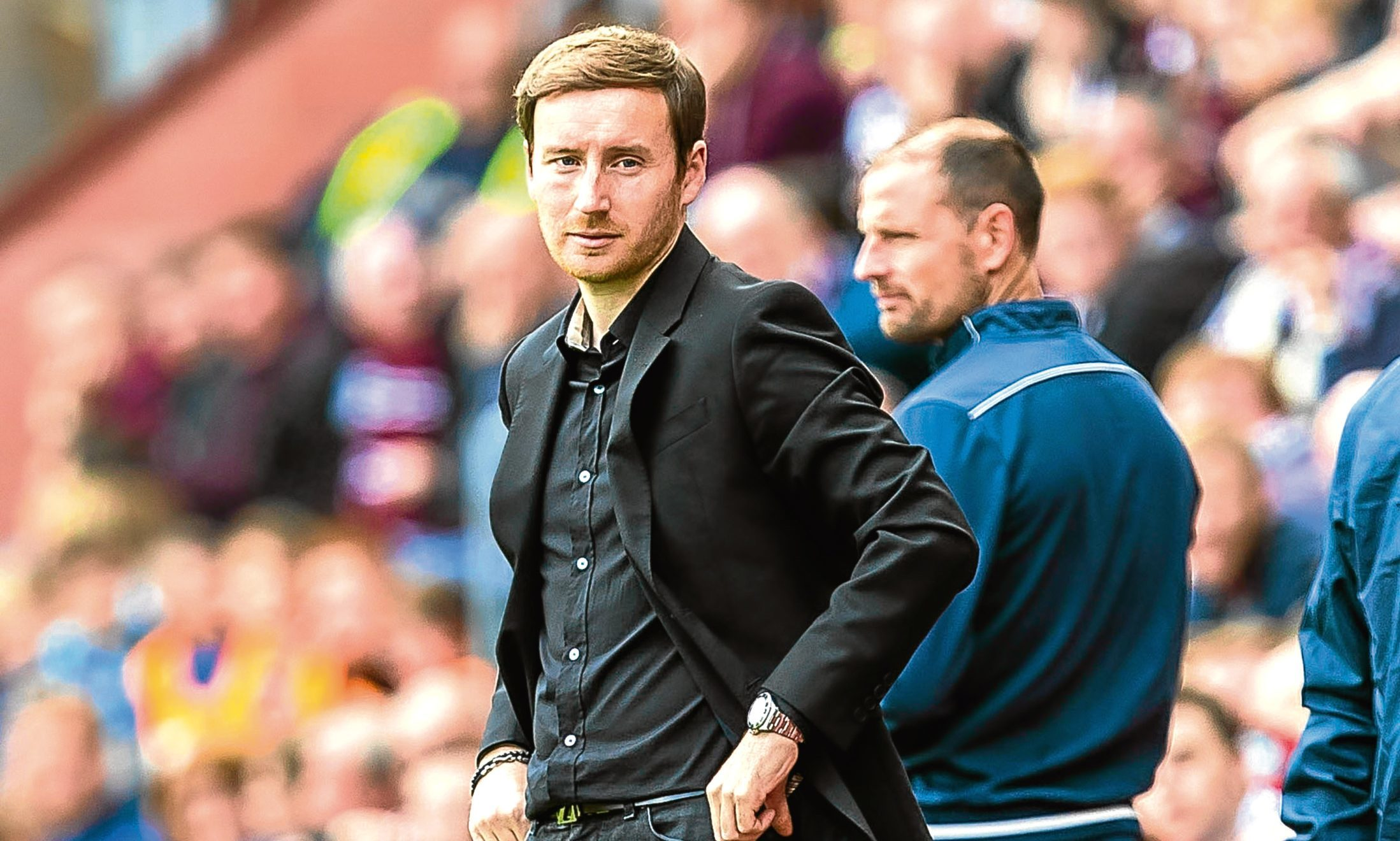 Hearts manager Ian Cathro (SNS Group)