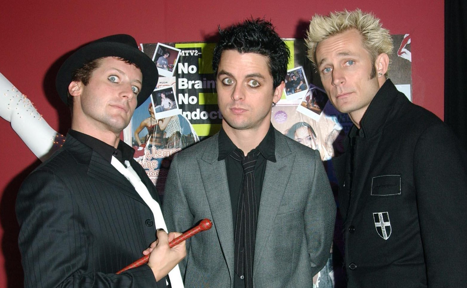 Green Day (Anthony Harvey/PA Wire)