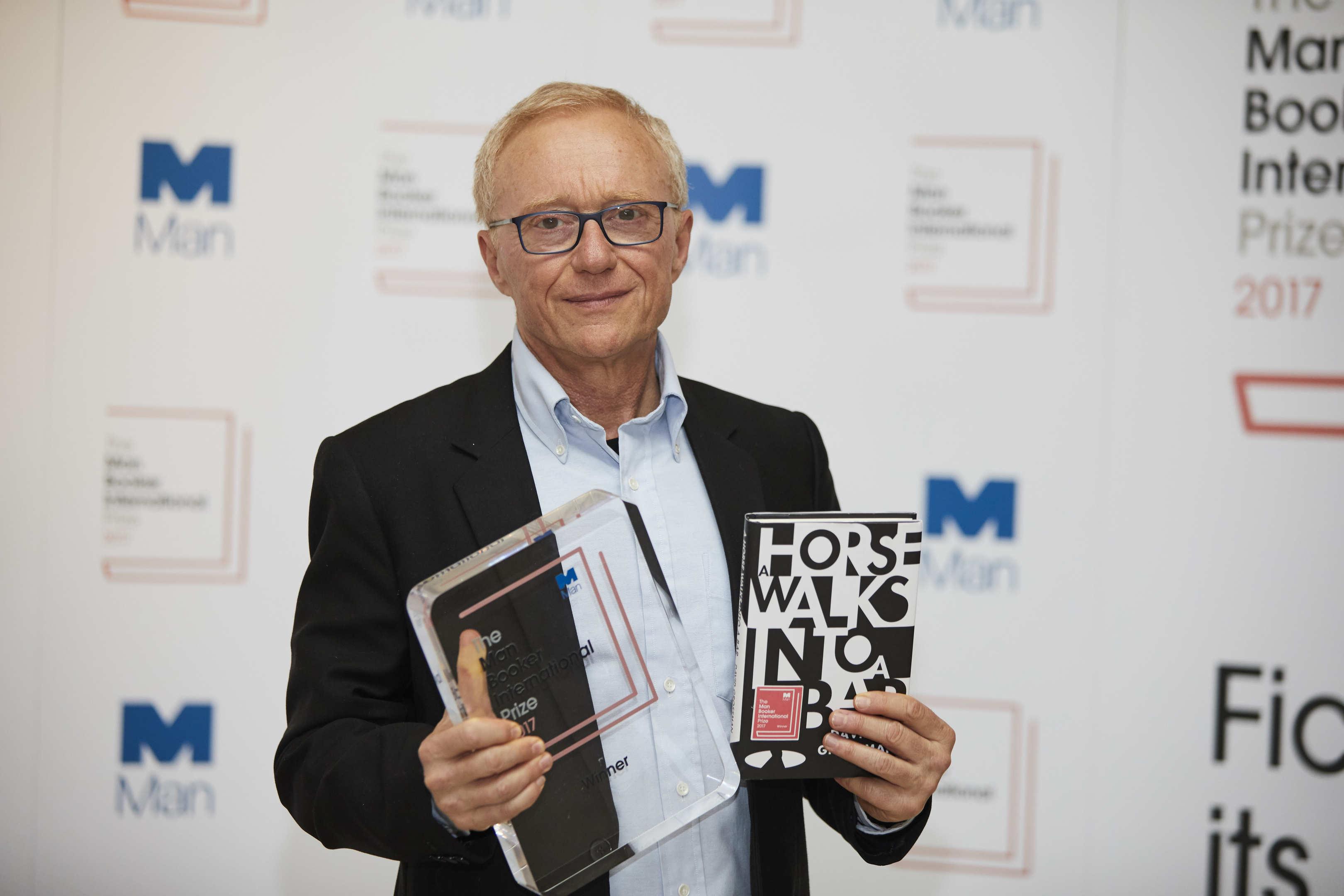 David Grossman wins the 2017 Man Booker International Prize
