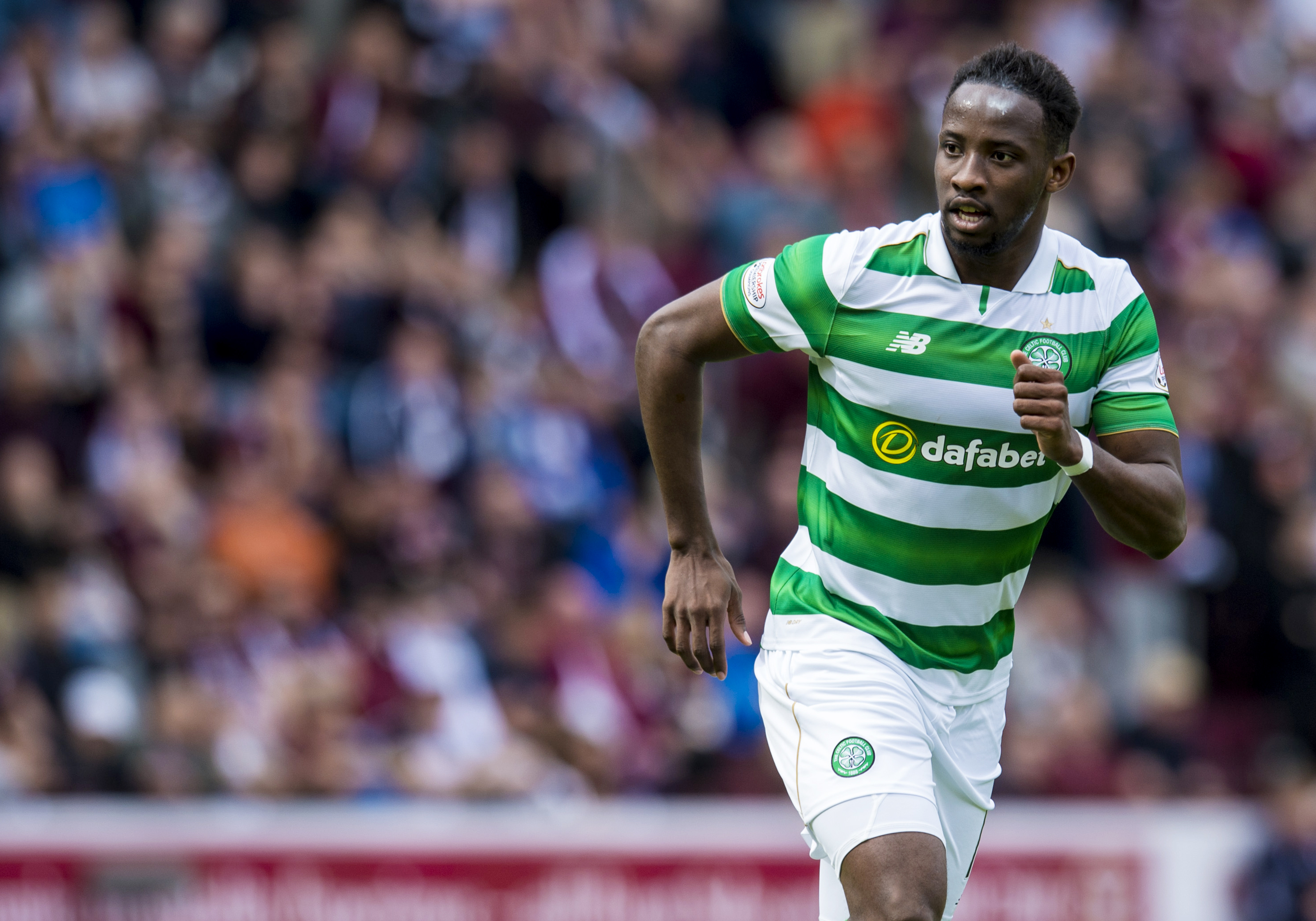 Moussa Dembele in action for Celtic (SNS Group)